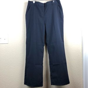 Attention Modern Fit Navy Pinstripe Trousers Sz 6